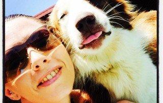 Selfies with Izzy